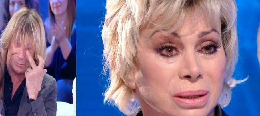 Sono morte tutte e due.Carmen Russo e Enzo Paolo Turchi in lacrime