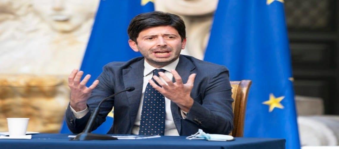Covid, il ministro Speranza: dovete Stare a casa il più possibile